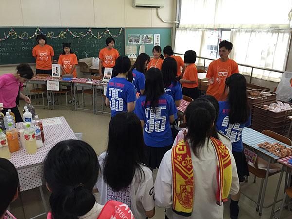 木曽川高等学校の文化祭