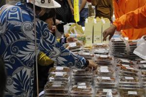昨年度の食品フェアの様子①