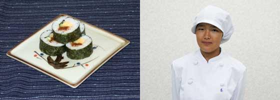 切り干し大根の味噌漬け巻き寿司 秦 彩香さん