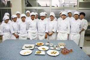 修文女子高等学校食物調理科 試作品発表会